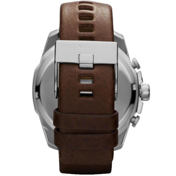 montre diesel mega chief dz4281 montre chrono cuir homme sur bijourama montre homme pas cher. Black Bedroom Furniture Sets. Home Design Ideas