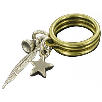 Bagues Fantaisie Amulette Plume - UBU - Ubu