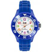 Montre Ice Watch Ice-Mini MN.BE.M.S.12 - Montre Enfant Bleu Blanc Silicone
