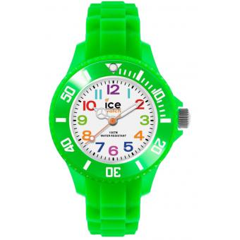 Montre Ice Watch Ice-Mini MN.GN.M.S.12 - Montre Enfant Vert Fluo Silicone
