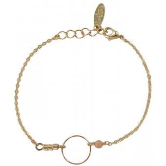 Bracelet Billie Or et Rose - LUNASTELLA - Lunastella