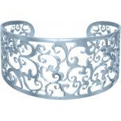 Bracelet Phebus Jonc Fleur Acier 831-038