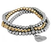 Bracelet Acier Perles - Phebus - PHEBUS CREATIONS