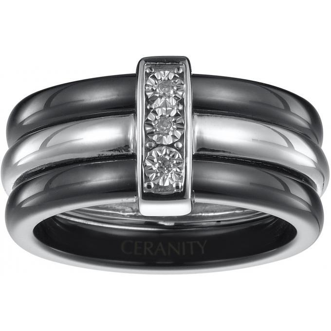 bague ceranity femme 1 18 0003 n bague noire anneaux diamants c ramique sur bijourama votre. Black Bedroom Furniture Sets. Home Design Ideas