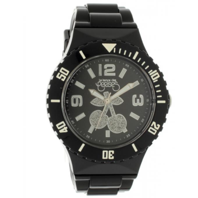 montre le temps des cerises tc67bkpu montre sport noire blanche femme sur bijourama montre. Black Bedroom Furniture Sets. Home Design Ideas