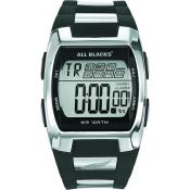 Montre All Blacks 680023 - Montre Digitale Noire Argentée Homme