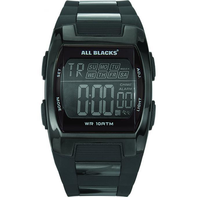 montre all blacks 680024 montre sport noire digitale. Black Bedroom Furniture Sets. Home Design Ideas