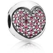 Charms Pandora Clip Rose 791053CZS
