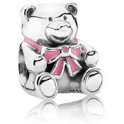 Charms Pandora Charm Rose 791124EN24 - Moments de Vie