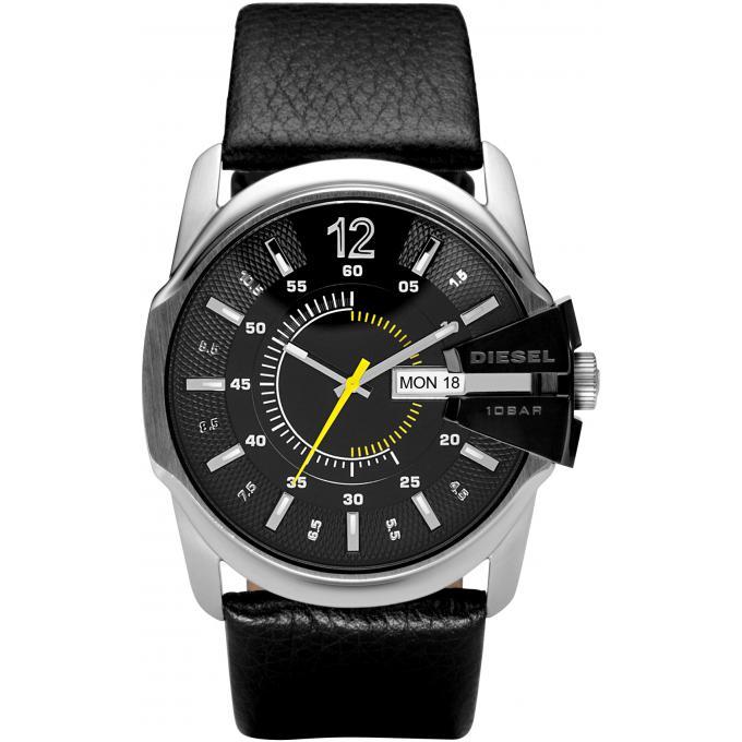 montre diesel chiefs dz1295 montre sport cuir noire homme sur bijourama n 1 de la montre. Black Bedroom Furniture Sets. Home Design Ideas