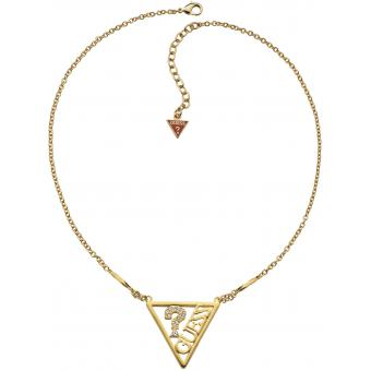Collier et Pendentif Guess ICONICALLY GUESS UBN71326 - Collier et Pendentif Grand Logo Triangle Femme