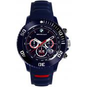 Montre Ice Watch Ice BMW Motorsport BM.CH.DBE.B.S.13 - Montre Chrono Silicone Bleue Logo BMW Homme