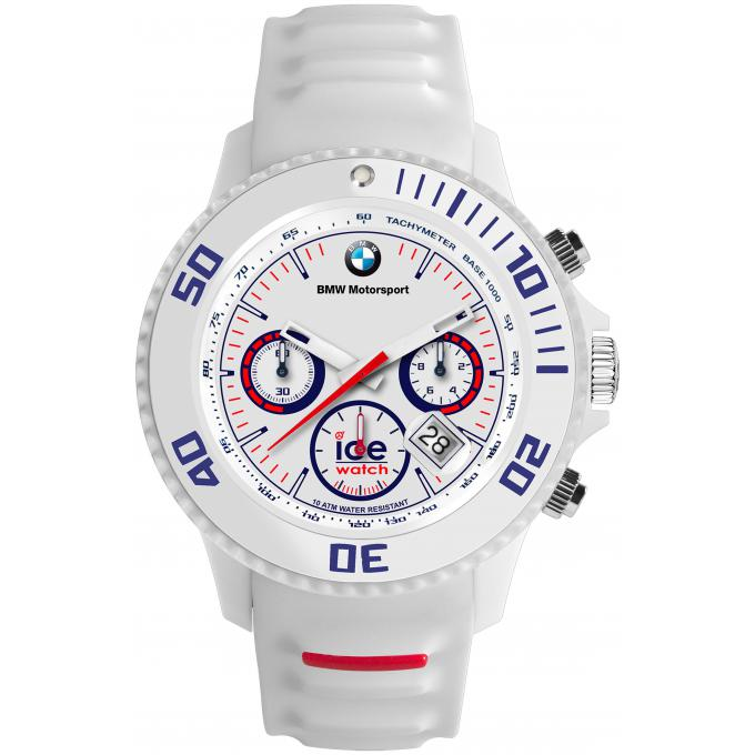 montre ice watch ice bmw motorsport bm ch we bb montre chrono silicone blanche logo bmw. Black Bedroom Furniture Sets. Home Design Ideas