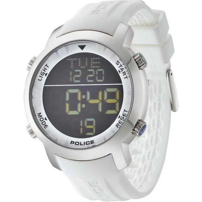 montre police montre sport silicone blanche homme sur bijourama n 1 de la. Black Bedroom Furniture Sets. Home Design Ideas