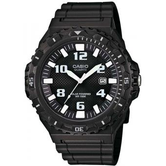 Montre Casio Collection MRW-S300H-1BVEF - Montre Sport Noire Dateur Homme