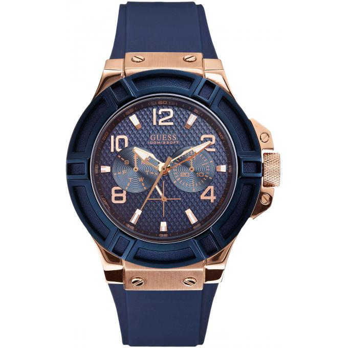 montre guess w0247g3 montre multifonctions acier bicolore homme sur bijourama montre homme. Black Bedroom Furniture Sets. Home Design Ideas