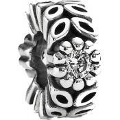 Charms Pandora Fleur Forêt Argent 791224CZ