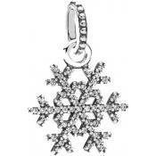 Collier et pendentif Pandora Flocon de Neige 390354CZ