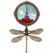 Broche Fantaisie Lucie Paris Lune - Les Cakes de Bertrand
