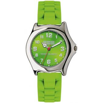 Montre Serge Blanco SB4023-94 - Montre Sport Mode Verte Enfant