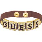 Bracelet Guess Bijoux Strassé Doré Métal UBB81319