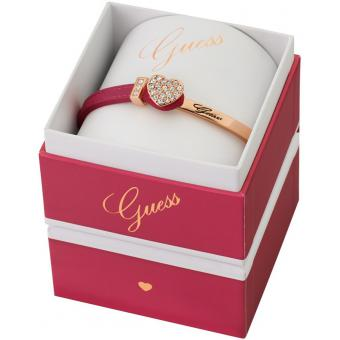Bracelet Fantaisie Guess Color Chic - Coffret Rose Or Chic - Guess