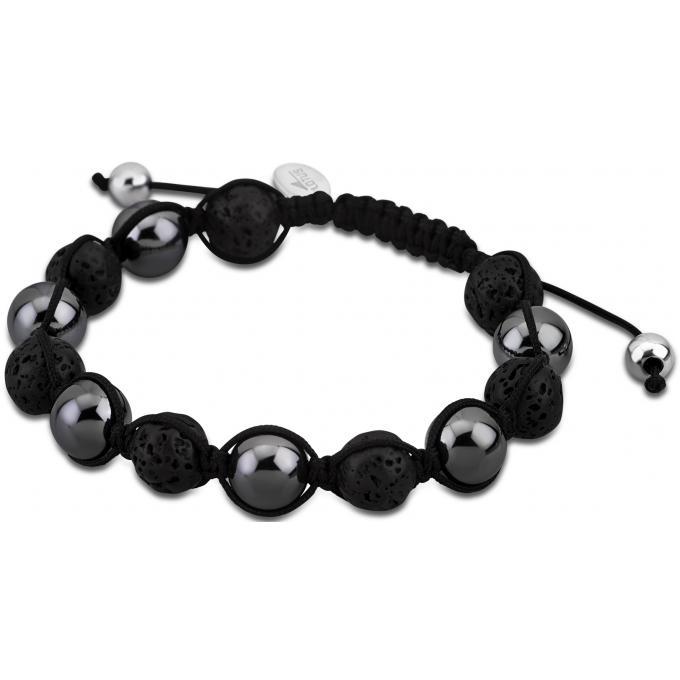bracelet lotus style ls3019 2 4 bracelet shamballa perle gris homme sur bijourama votre. Black Bedroom Furniture Sets. Home Design Ideas