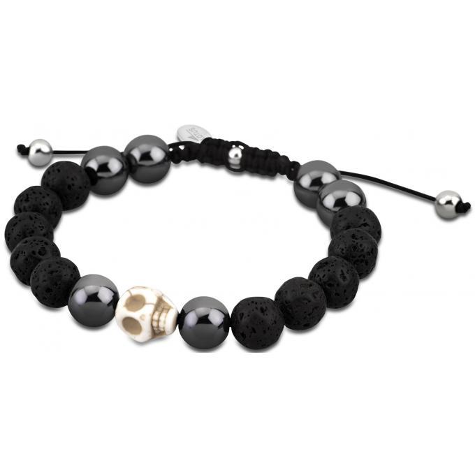 bracelet lotus style ls3019 2 3 bracelet t te de mort. Black Bedroom Furniture Sets. Home Design Ideas