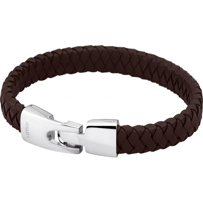bracelet lotus style ls1517 2 1 bracelet cuir marron torsad homme sur bijourama votre. Black Bedroom Furniture Sets. Home Design Ideas