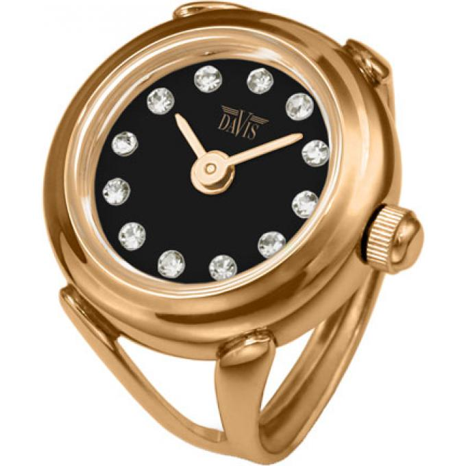 montre davis 4160 montre bague or noire strass femme sur bijourama montre femme pas cher en. Black Bedroom Furniture Sets. Home Design Ideas