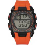 Montre Tekday Dateur Noire Orange 655814