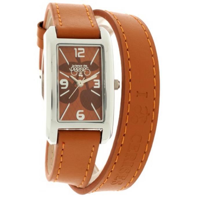 montre le temps des cerises tc78brc montre marron bracelet double femme sur bijourama n 1 de. Black Bedroom Furniture Sets. Home Design Ideas