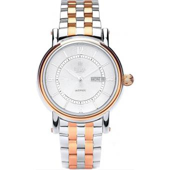 Montre Royal London 41149-05 - Montre Or Rose Argent Homme