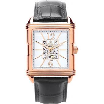 Montre Royal London 41169-03 - Montre Noire Or Rose Homme
