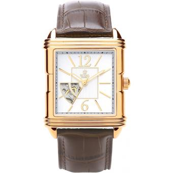 Montre Royal London 41170-01 - Montre Cuir Marron Vintage Homme