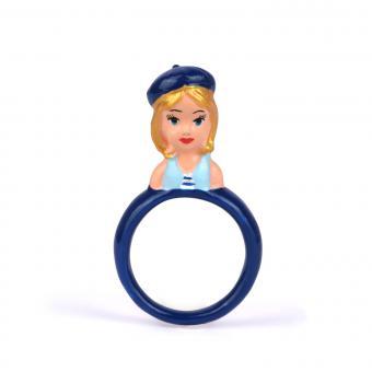 Bague Jeunes Demoiselles - Bleue Fantaisie - N2