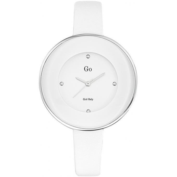 montre go 698166 montre blanche mode cuir femme sur bijourama montre femme pas cher en ligne. Black Bedroom Furniture Sets. Home Design Ideas