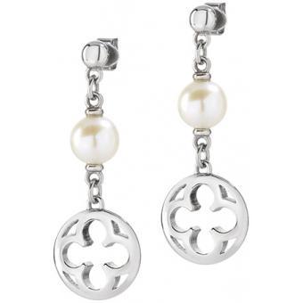 Morellato bijoux - Boucles d'oreilles Perle Argent Acier - Morellato