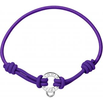 Bracelet Pierre Lannier JC98A270 - Bracelet Cordon Violet Femme