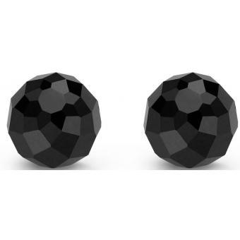 Boucle d'Oreilles Argent et Plaqué Or Ti Sento - Boucles d'oreilles Argent Noires Quartz - Ti Sento