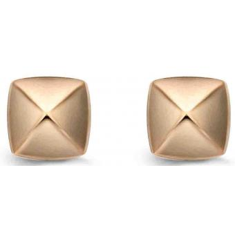 Boucle d'Oreilles Argent et Plaqué Or Ti Sento - Boucles d'oreilles Or Mode - Ti Sento