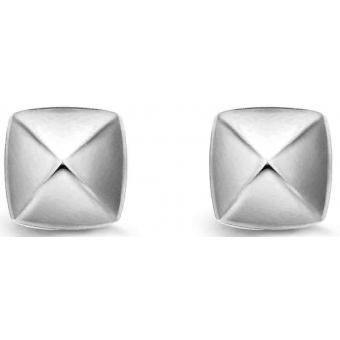 Boucle d'Oreilles Argent et Plaqué Or Ti Sento - Boucles d'oreilles Argent Zirconium - Ti Sento