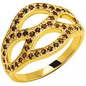 Bague Kenzo Bijoux Or Strass Arabesque 70193230116