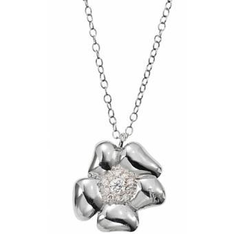 Collier et pendentif Lolita Lempicka Bijoux F46007Z - Collier Fleur Argent Design Femme