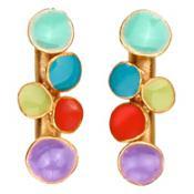 Boucles d'oreilles Joid'Art Email Multicolores J3020AR063200
