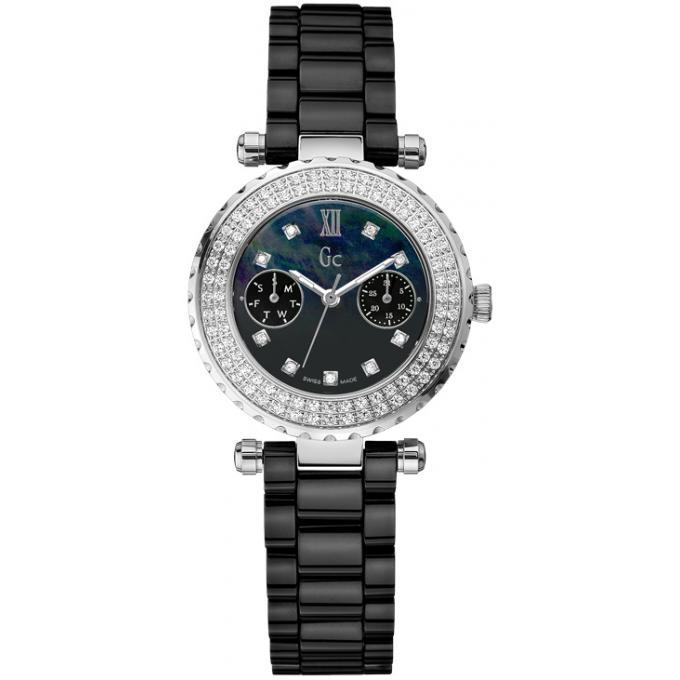 montre gc a28102l2 montre c ramique noire diamants femme sur bijourama montre femme pas cher. Black Bedroom Furniture Sets. Home Design Ideas