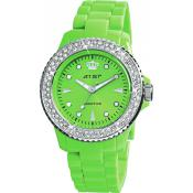 Montre Jet Set J12234-25 - Montre Ronde Verte Addiction Femme
