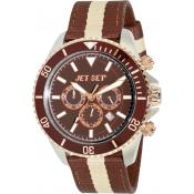 Montre Jet Set J2120R-18 - Montre Chrono Ronde Marron Homme