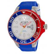 Montre Jet Set J55223-25 - Montre France Bleue Dateur Homme