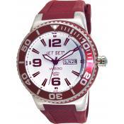 Montre Jet Set Ronde Rouge Wb30 J55454-07 - Rouge